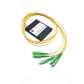 PLC 1*4 ABS BOX splitter sc apc connector